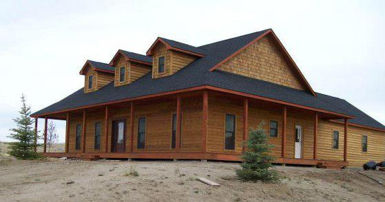 Rustic-materials by DFD House Plans