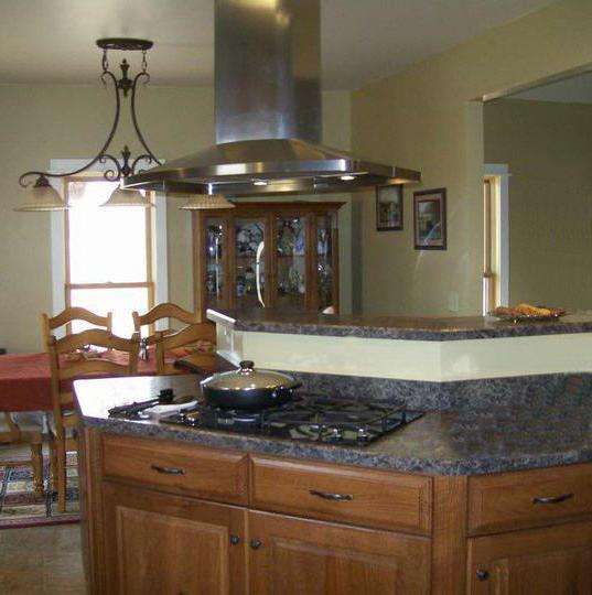 Rustic Kitchen view 1 by DFD House Plans