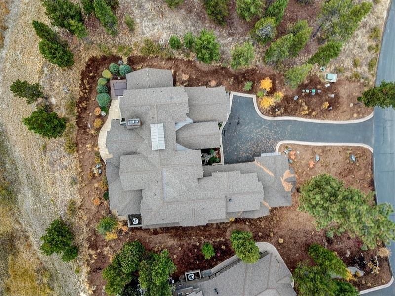 Overhead View by DFD House Plans