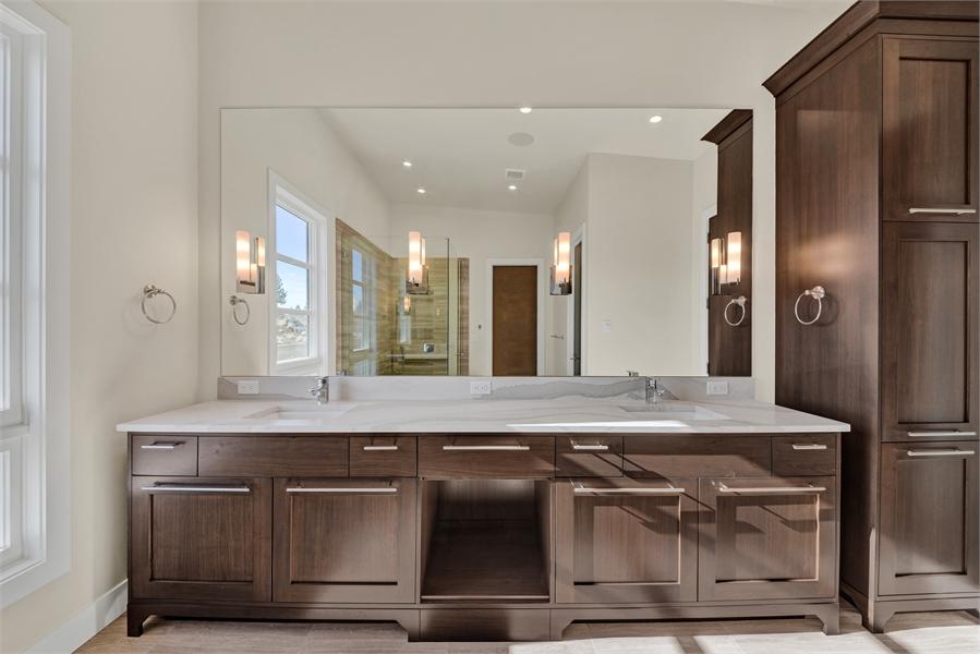 Bathroom by DFD House Plans