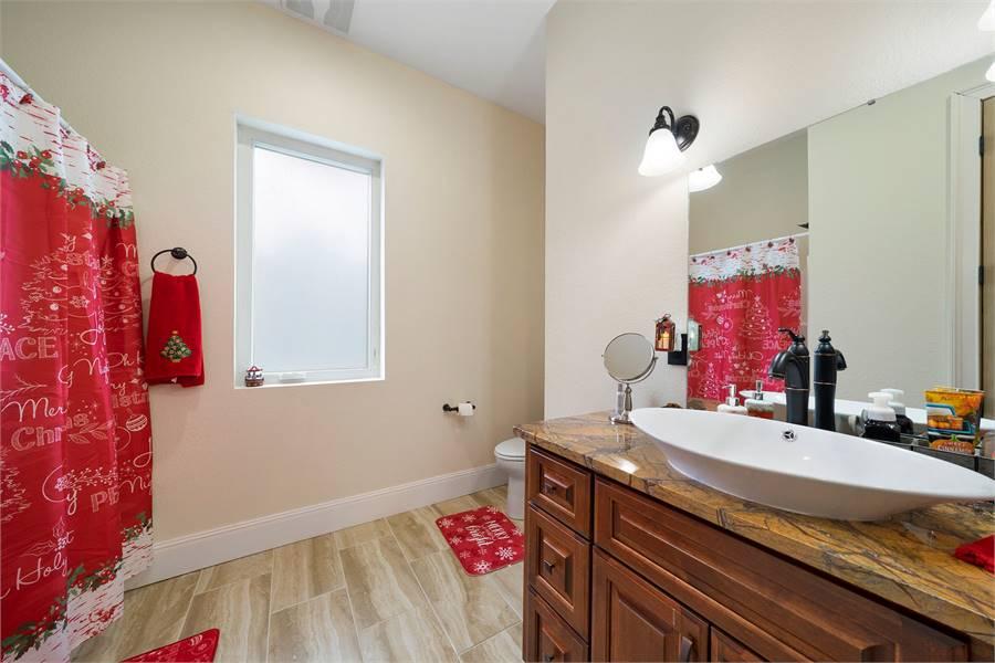 Bathroom Featuring Delta® Faucets
