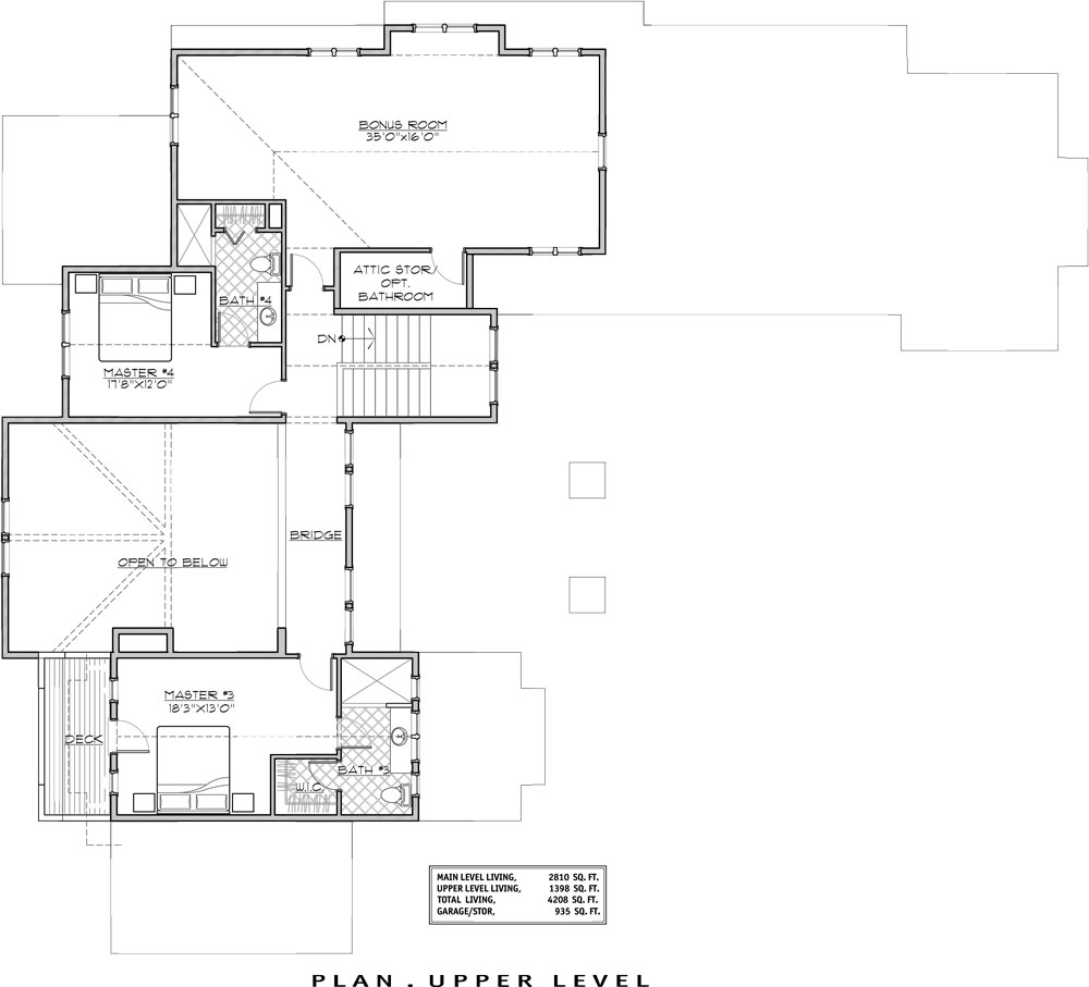 House magnificent mountain house plan green builder for Mountain house floor plans