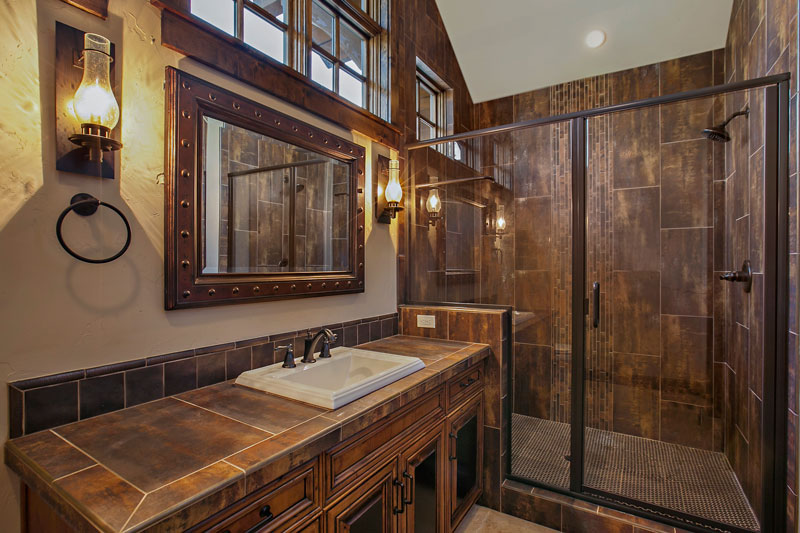 Bathroom image of Magnificent Mountain House Plan