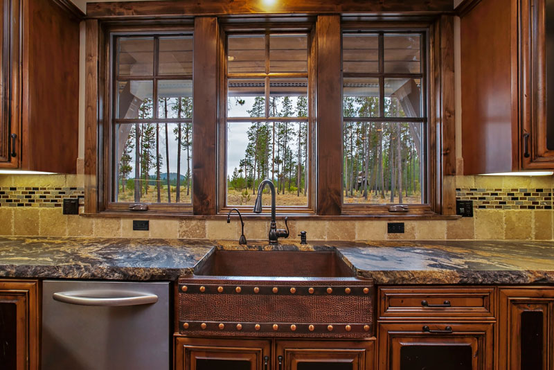 Kitchen image of Magnificent Mountain House Plan