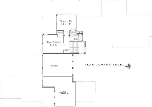 2nd Floor by DFD House Plans