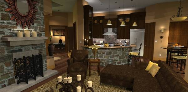 Living Area image of L'Attesa di Vita House Plan
