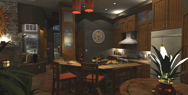 Interiors - Nook to Kitchen