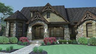 European House Plans With Great Master Suites By DFD House Plans