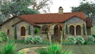 European And Mediterranean House Plans By DFD House Plans