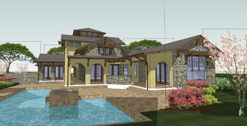 Pool image of Viva per Sempre House Plan