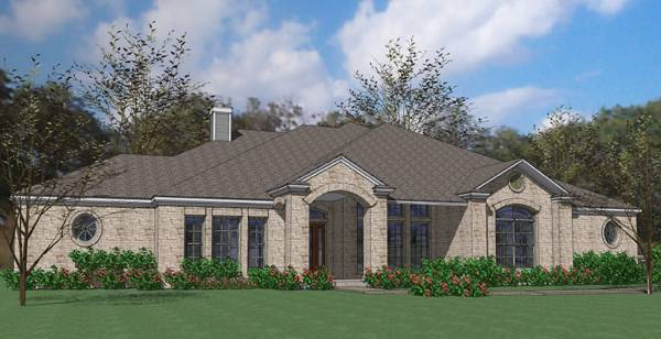 Alternate Elevation A by DFD House Plans