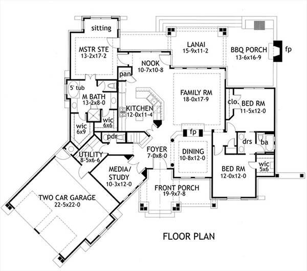 1st Floor image of L'Attesa Di Vita II House Plan