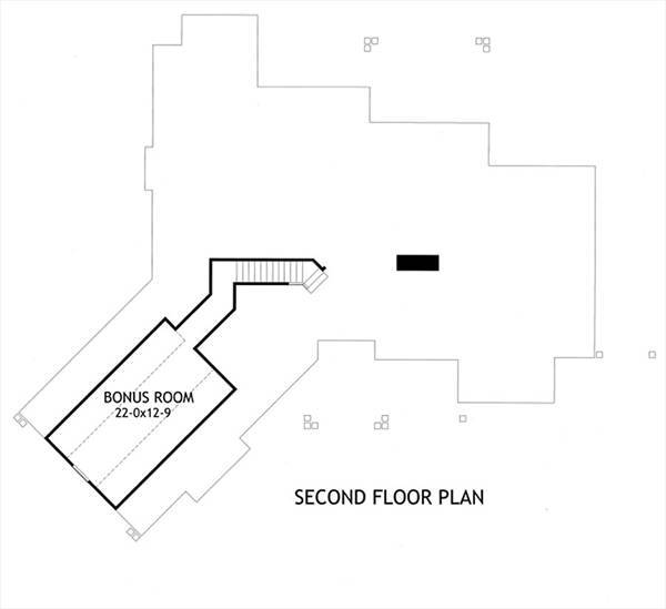 Bonus Plan image of L'Attesa Di Vita II House Plan