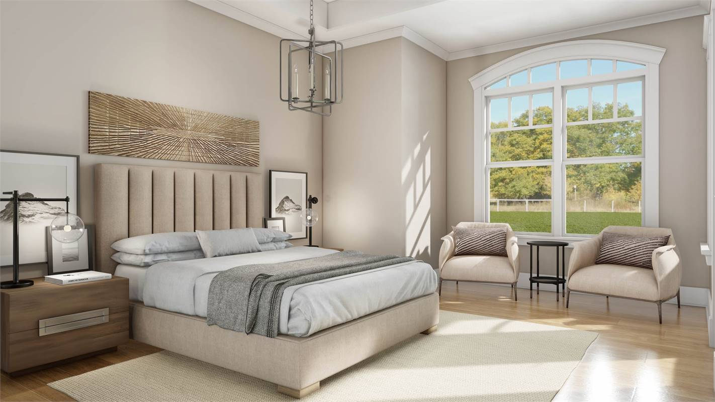 Enchanting Master Suite image of L'Attesa Di Vita II House Plan