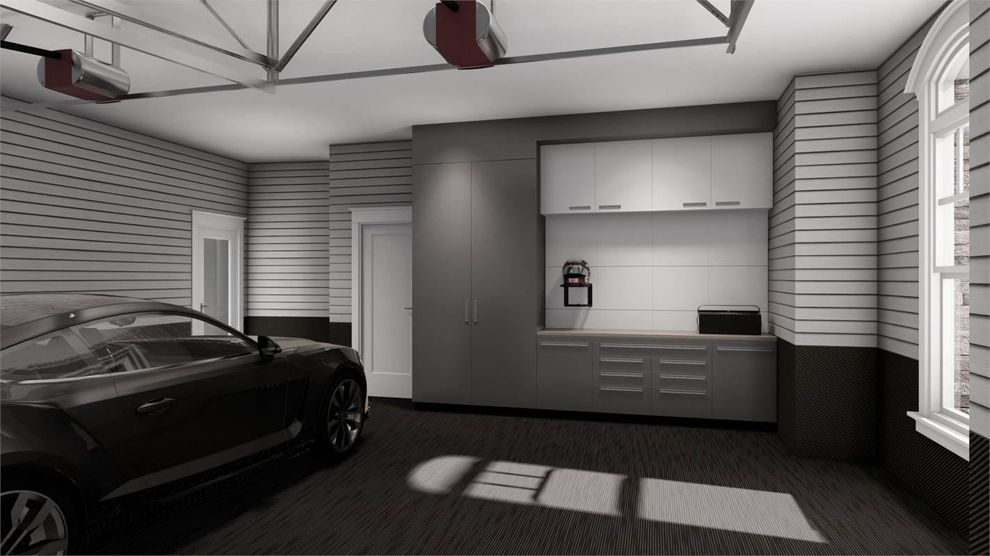 Garage and Workshop image of L'Attesa Di Vita II House Plan