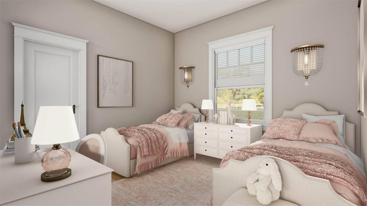 Front Bedroom image of L'Attesa Di Vita II House Plan