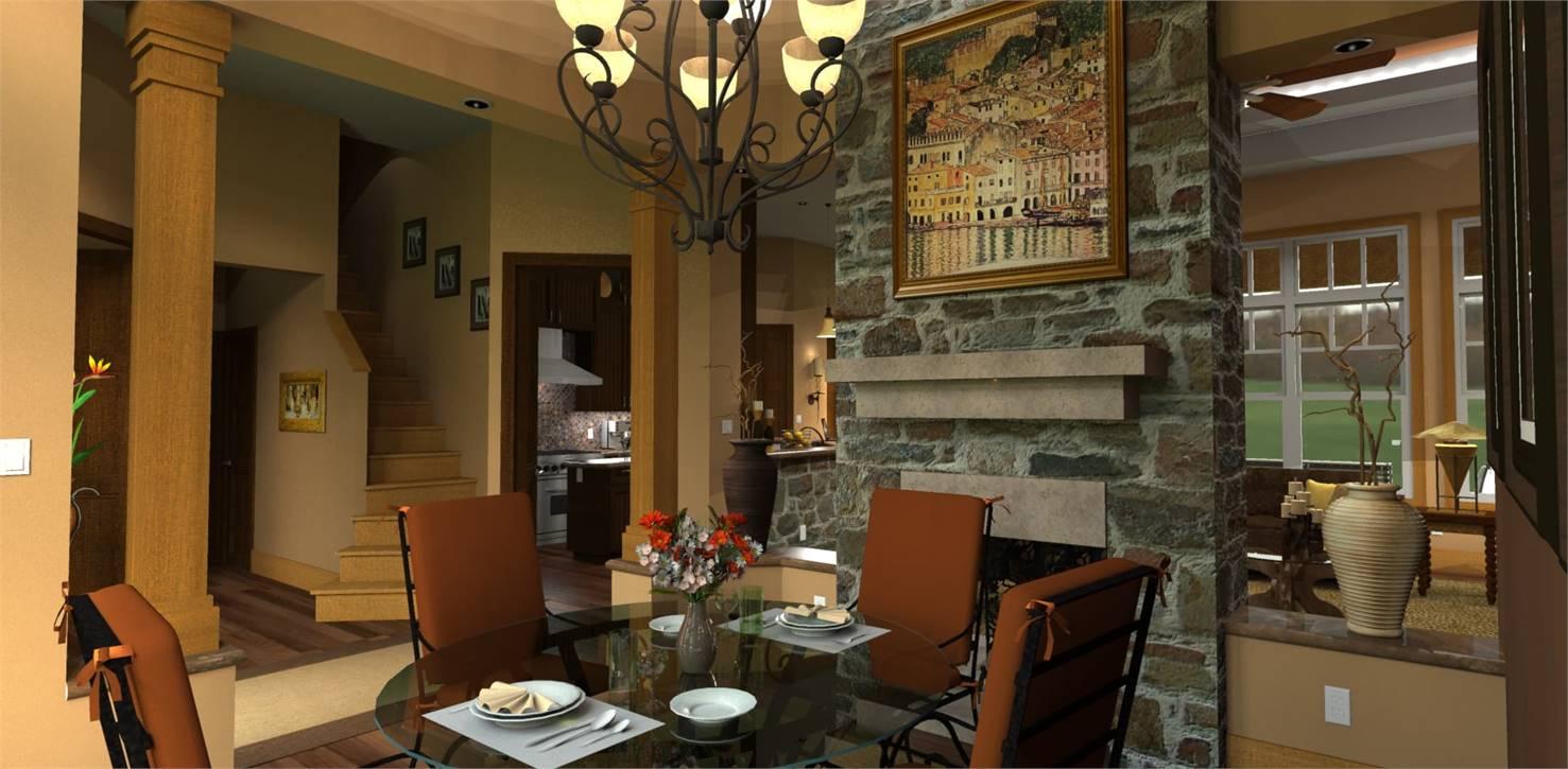 Dining Room image of L'Attesa di Vita House Plan