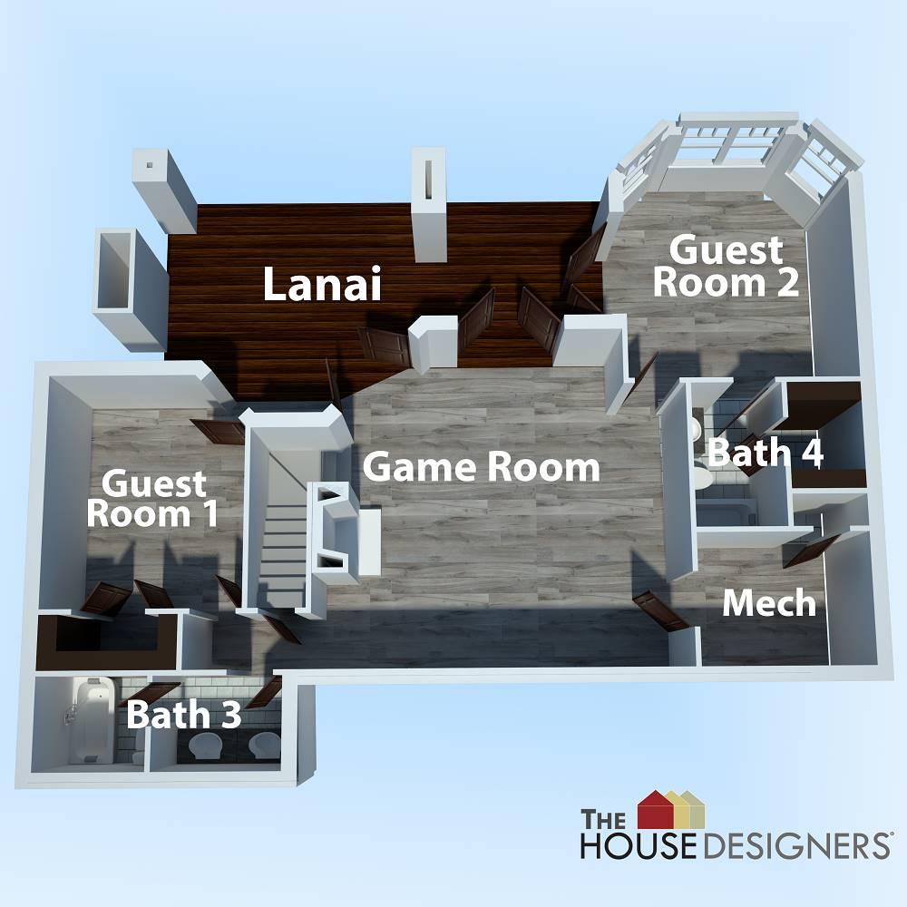 Basement Plan image of Merveille Vivante Small House Plan