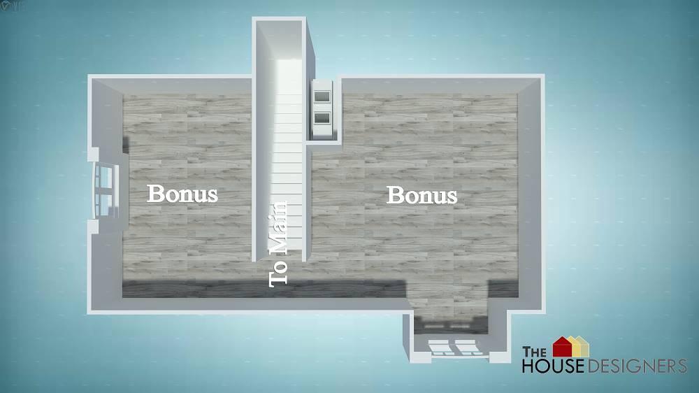 Second Floor Plan image of Merveille Vivante Small House Plan