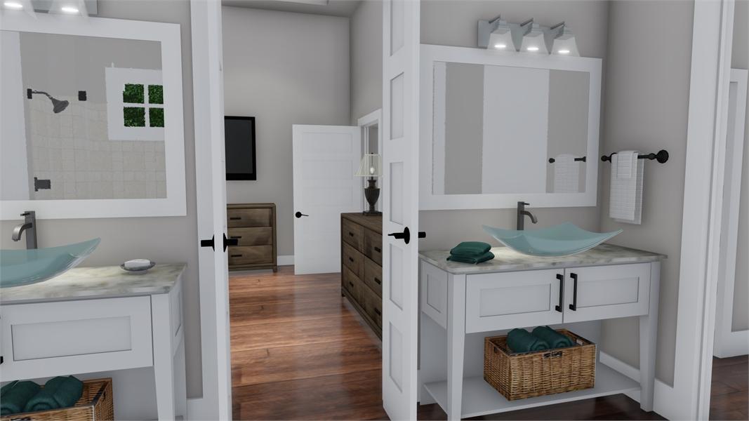 Interiors - Mstr Van 2 by DFD House Plans