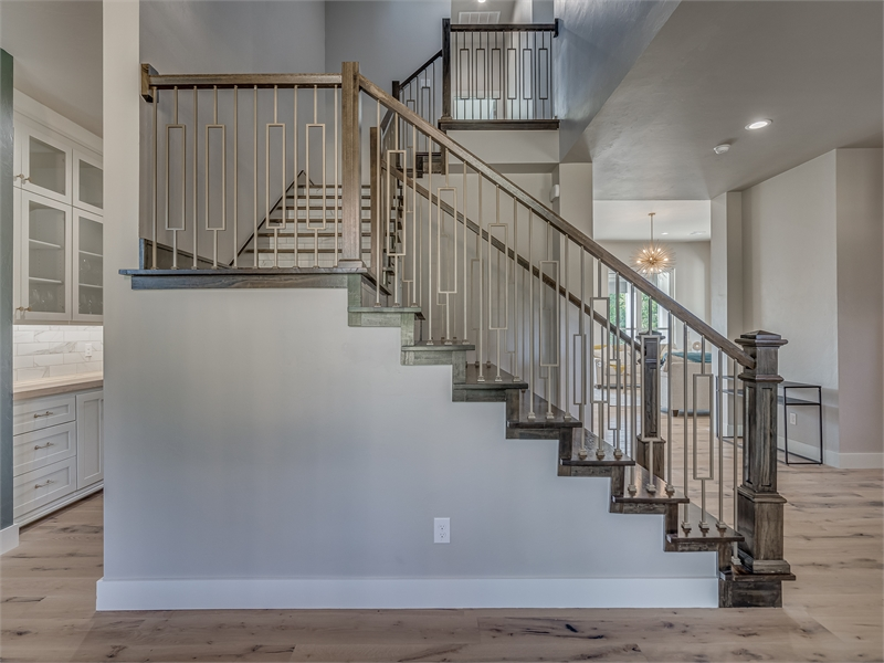 Staircase by DFD House Plans