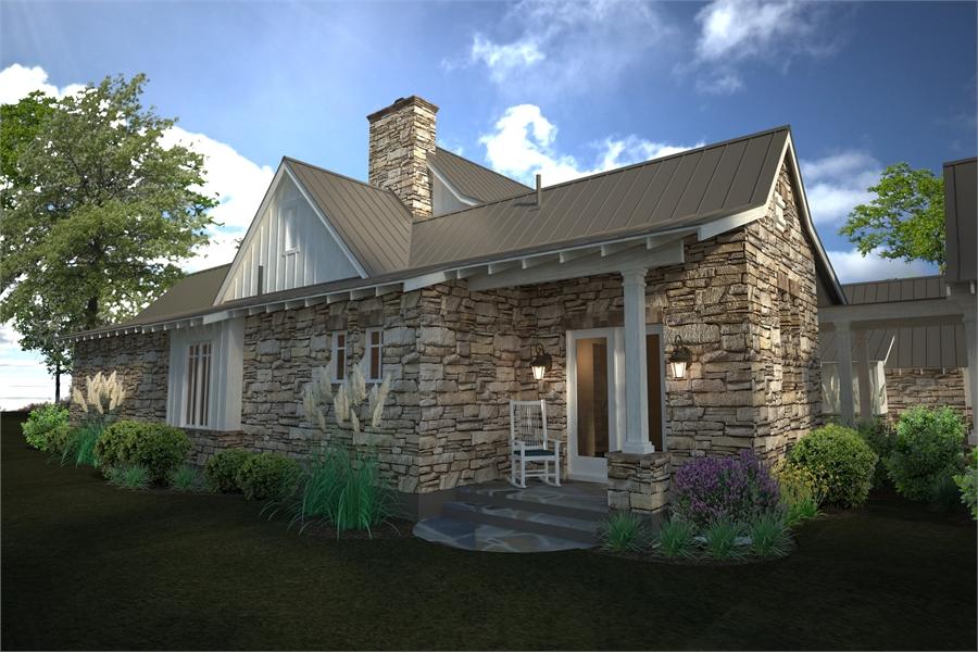 Rendering - Back Porch