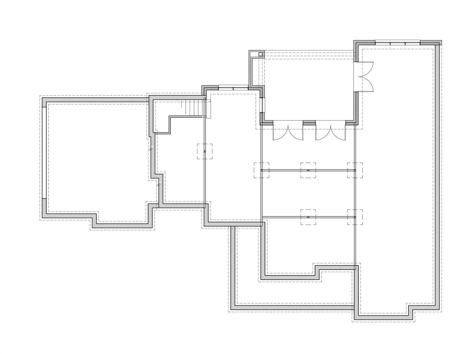Walkout Basement by DFD House Plans