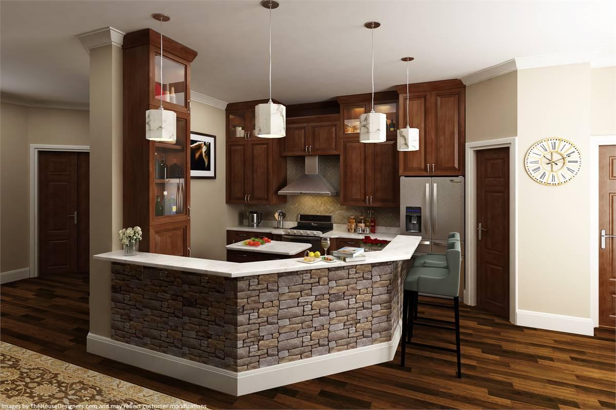 Kitchen image of Vita di Lusso House Plan