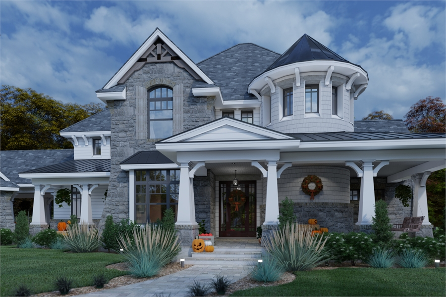 Front View image of L'Bella Liza House Plan
