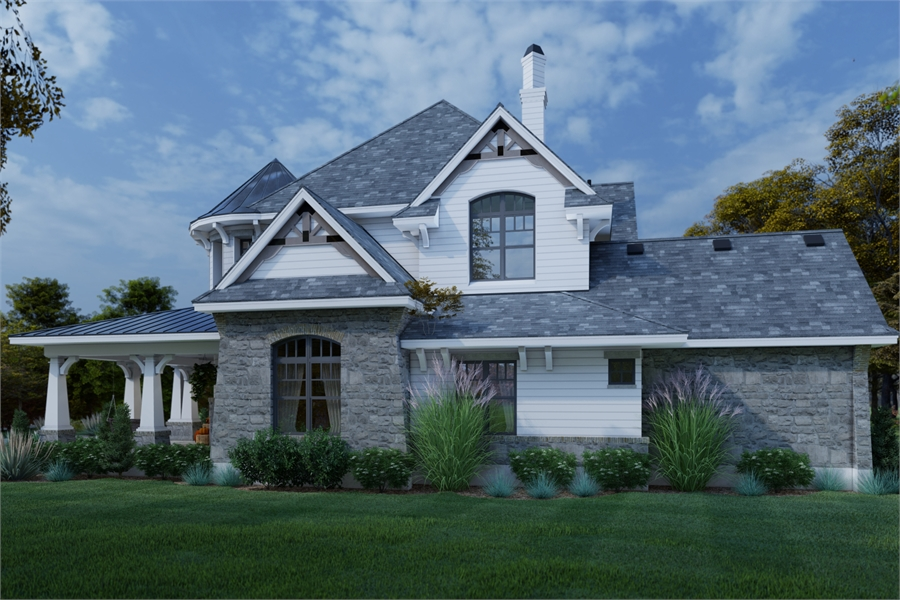 Right View image of L'Bella Liza House Plan