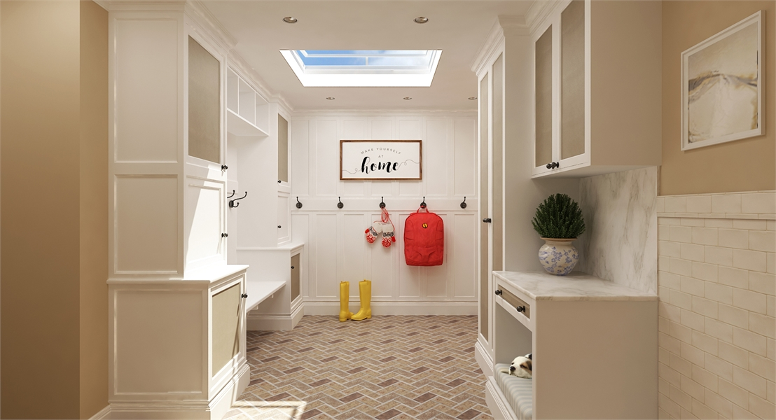 Mud Room image of La Casa Bella House Plan