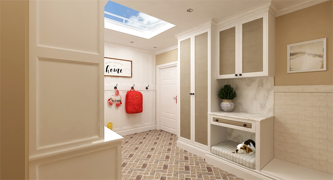 Mud Room 2 image of La Casa Bella House Plan