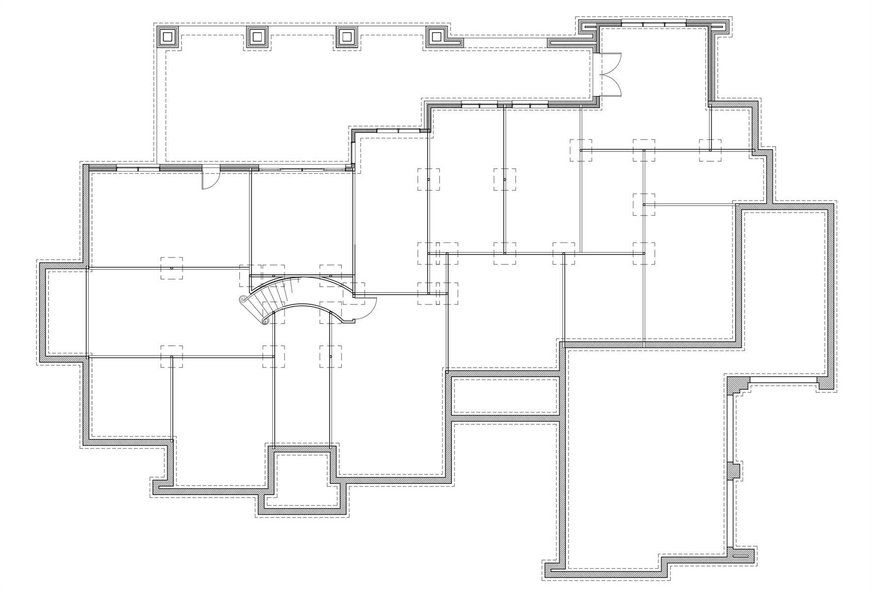 Basement Floor Plan image of L'Accettazione House Plan