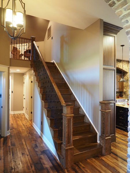 Interior Stairs by DFD House Plans