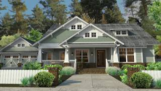 Craftsman House Plans by DFD House Plans