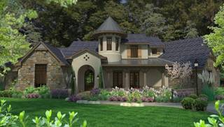 European and Tuscan House Plans by DFD House Plans