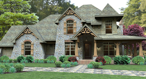 Cottage House Plan With 4 Bedrooms And 3 5 Baths Plan 4503
