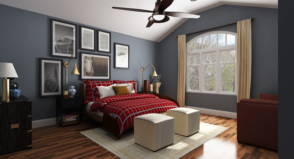 Interiors - Master Bedroom image of La Casa Bella House Plan