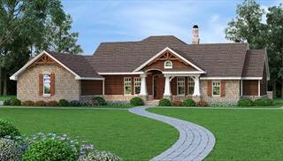 House Plans with Bonus Room and In-Law Suite by DFD House Plans