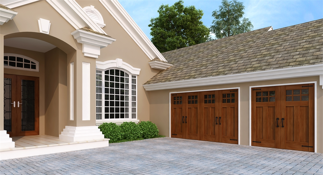 Garage Option by DFD House Plans