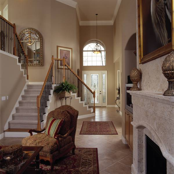 Mansion Foyer Quotes : Southern house plan with bedrooms and baths