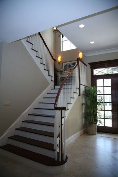 Grand Stairway by DFD House Plans