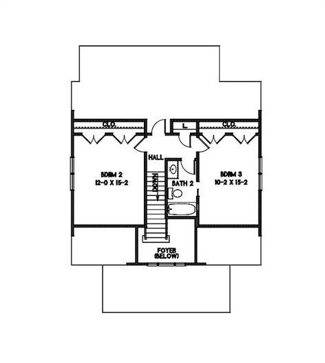 2nd Floor Plan image of Watercolor House Plan