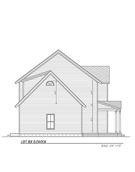Side Elevation image of Carpenter IV House Plan