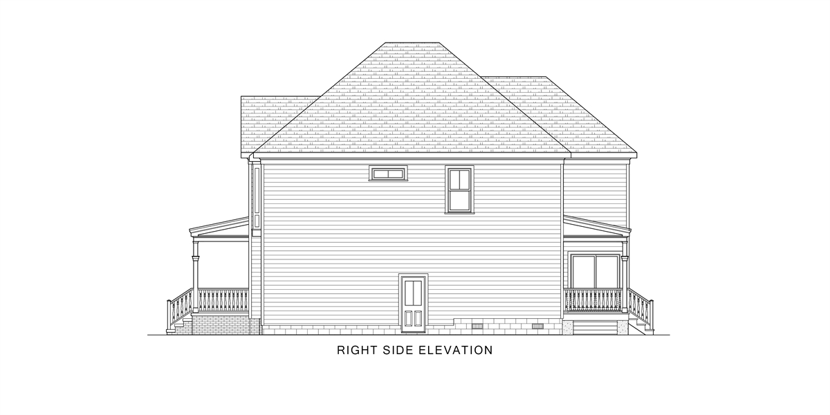 Right View image of Gabriella House Plan