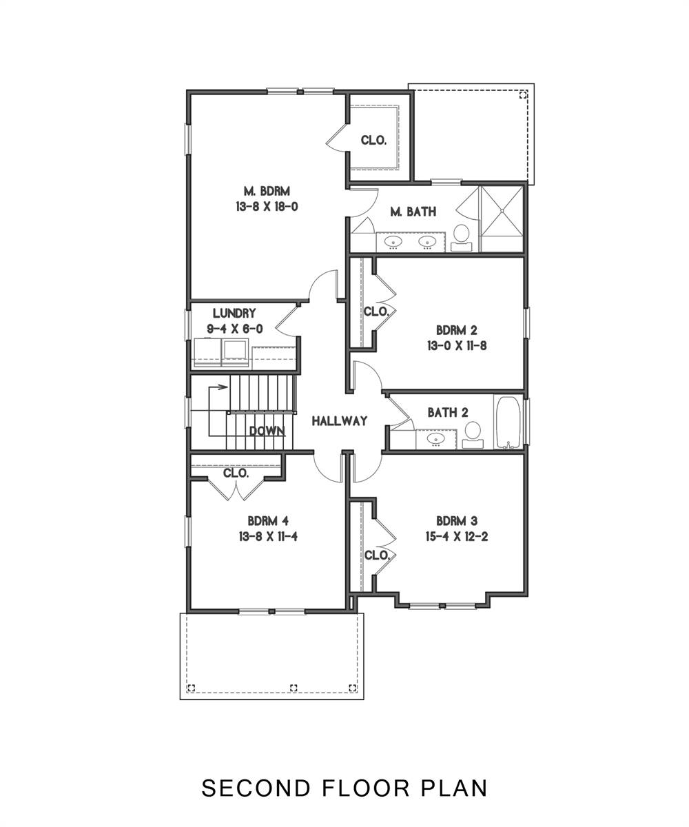 2nd Floor image of Gabriella House Plan
