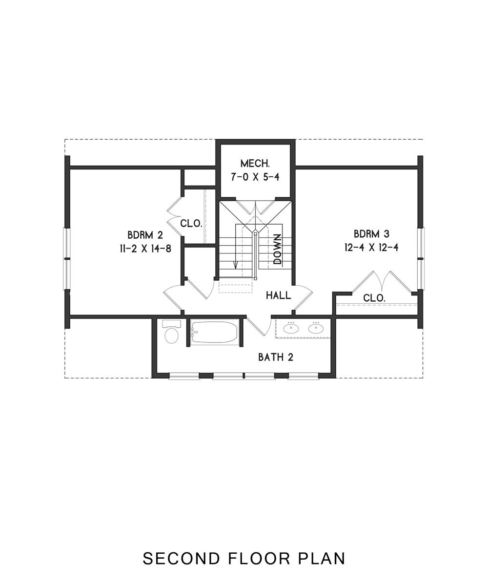 2nd Floor image of Enough House Plan