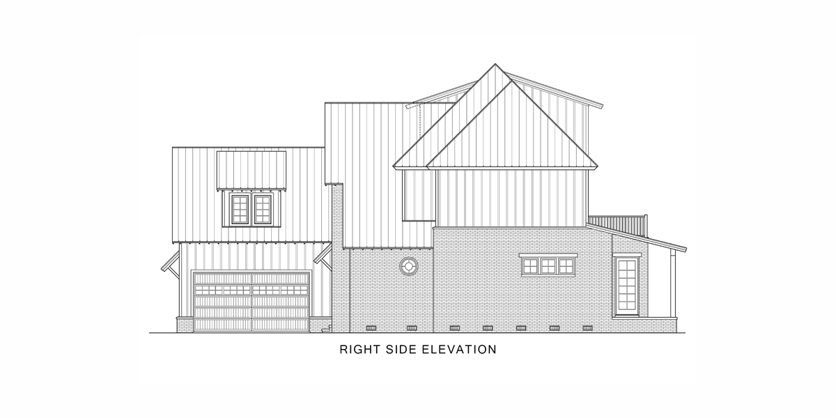 Right View image of Tulsa House Plan