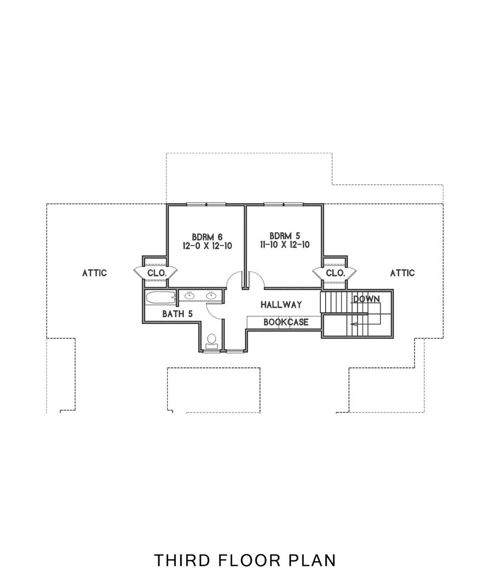 3rd Floor image of Tulsa House Plan