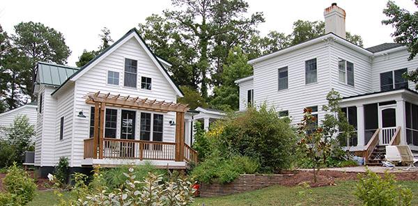 Katrina Cottage Backyard by DFD House Plans